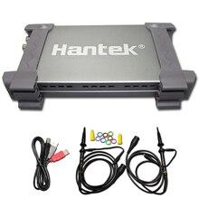 Hantek официальный 6022BE ноутбук ПК USB цифровой осциллограф 2 канала 20 МГц Портативный Osciloscopio