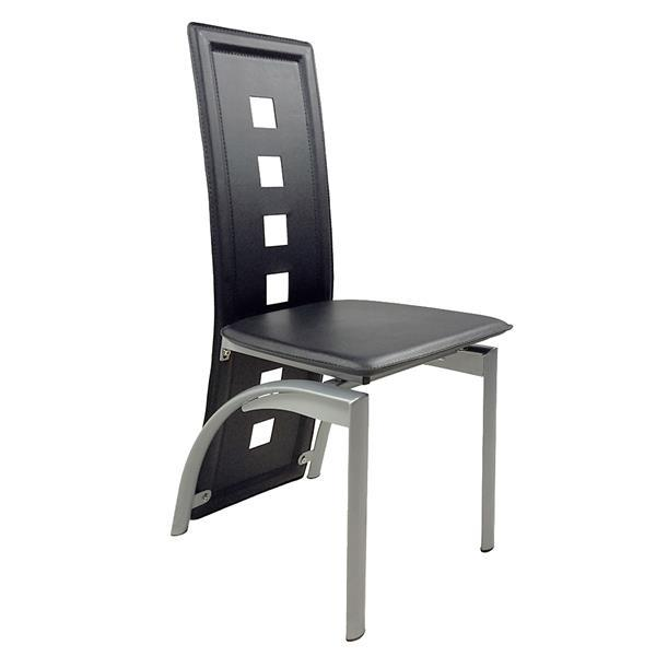 Tempered Glass Dining Table with Chairs  5