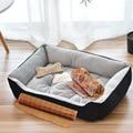 Dog Cat Bed Pet Basket Cozy Kitten Lounger Cushion Cat House Tent Soft Small Dog Mat Bag pillow Cushions blanket