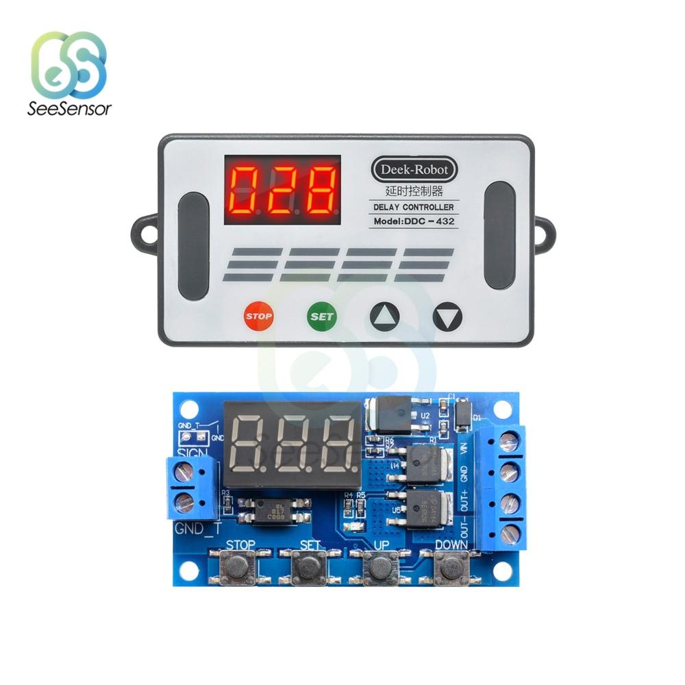 5 V 30 V Delay Relay Timer Module de contrôle Retard de Déclenchement Interrupteur Micro USB Power