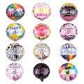 10 шт./лот, 18 дюймов, круглые воздушные шары из фольги гелиевые шары с персонажами мультфильмов, украшения для вечеринки на день рождения, ден...