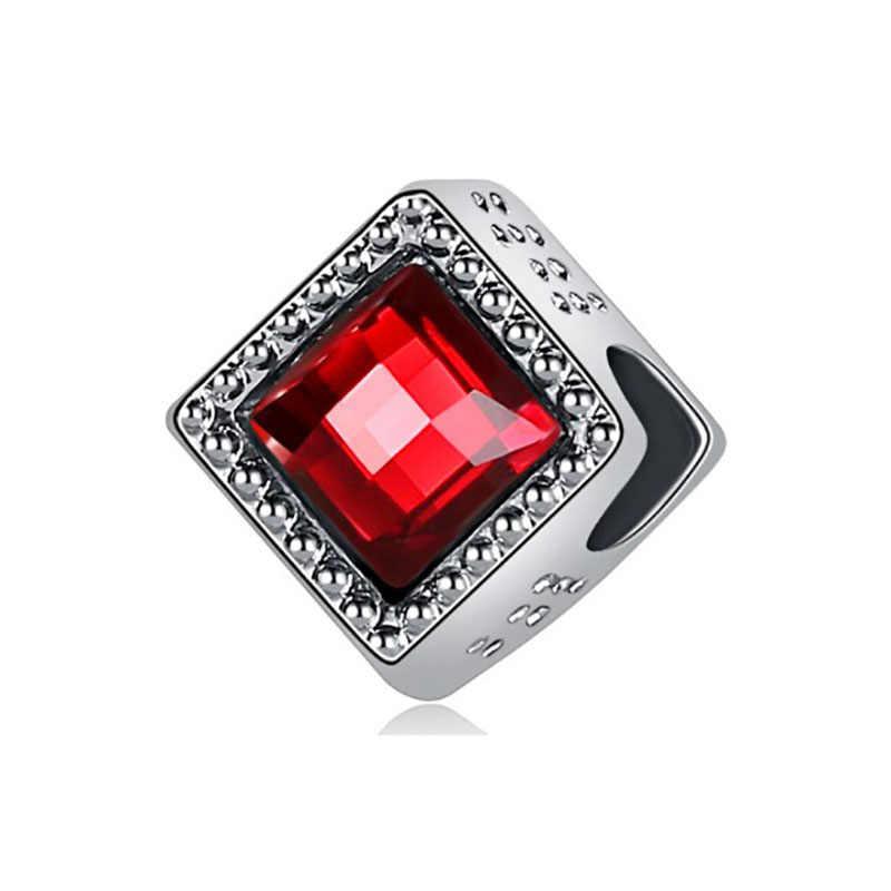 Cocok Pulsera Pandora Charms Silver 925 Asli Gelang Beads untuk Perhiasan Membuat Fashion Perhiasan Membuat Bijoux Reflexions Pesona