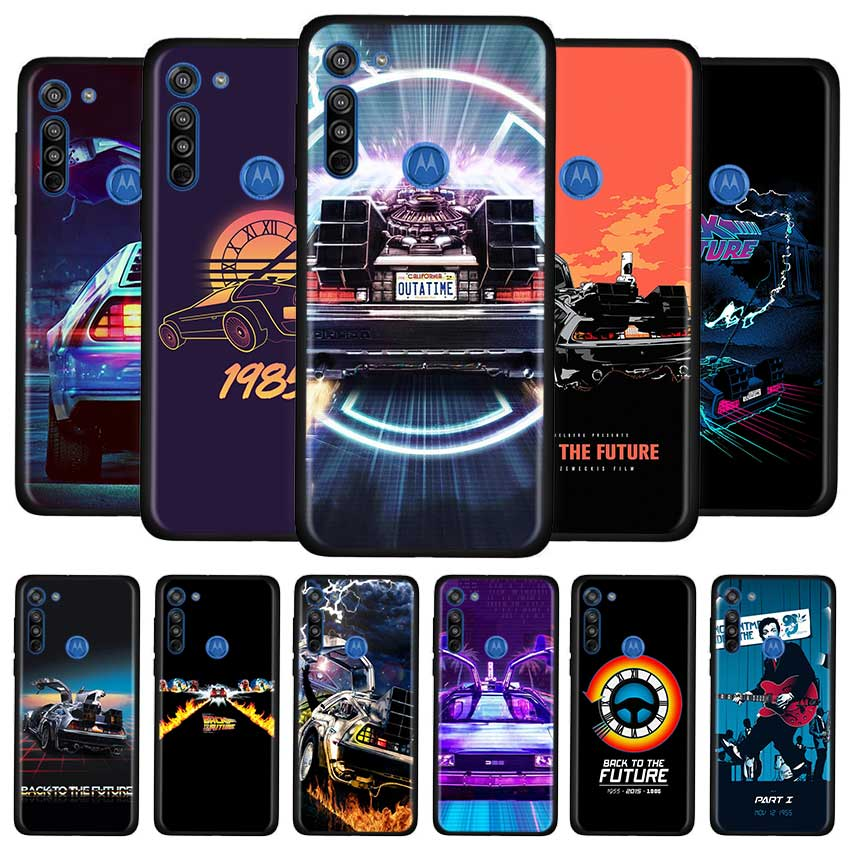 Back To The Future Case For Motorola G8 Play G Stylus G Power G8 Power Lite E6s Edge Plus One Hyper Soft TPU Cover Couqe