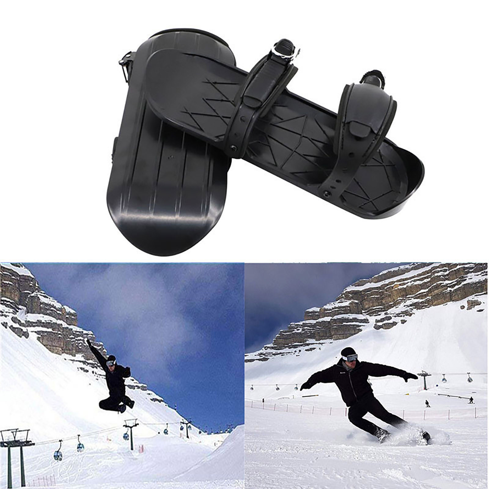 Skiing-Shoes Boot Waterproof Snow-Feet Winter Snowboarding Adjustable Outdoor Attach