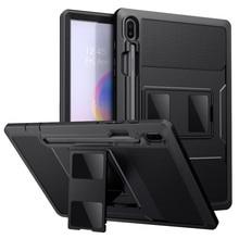 Moko กรณีสำหรับ Samsung Galaxy Tab S6 10.5 2019, heavy Duty แบบเต็มรูปแบบพร้อมตัวป้องกันหน้าจอในตัว