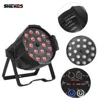 SHEHDS LED Zoom Par 18x12W RGBW 4in1 RGBW RDM Function DMX Control Suitable For Bar DJ Disco Theater Wedding Effect Light