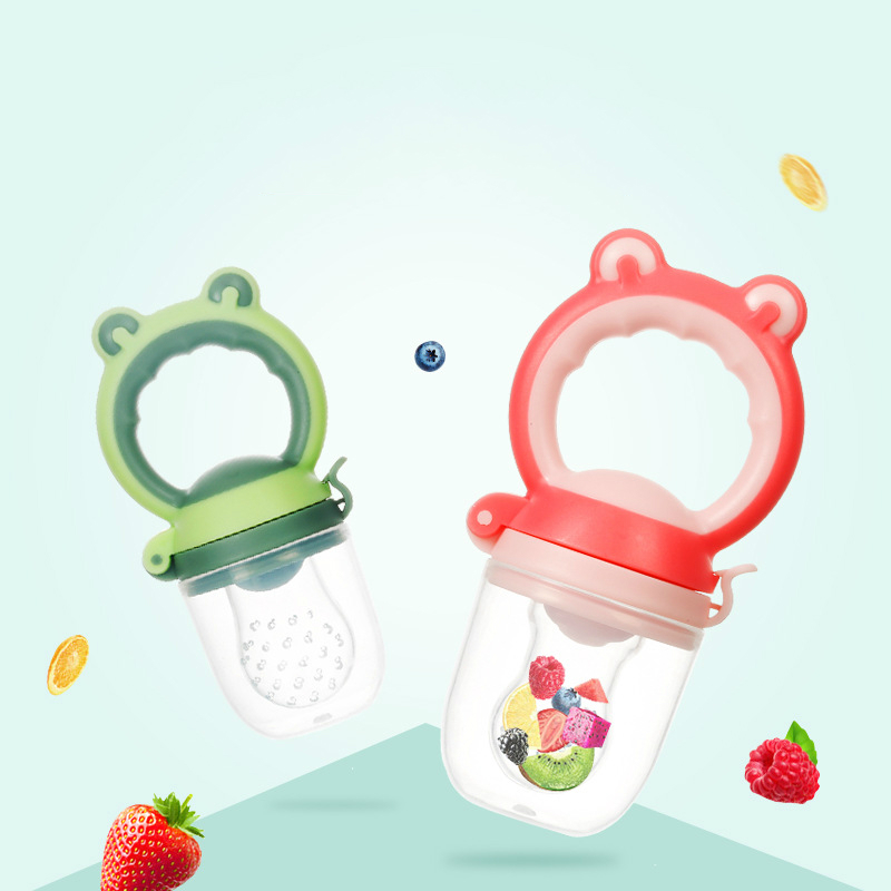 New Style Baby Pacifier Bottles Nipple Baby Fruit And Vegetable Chew Tools Infant Food Kids Nipple Feeding Safe Silicone Feeder