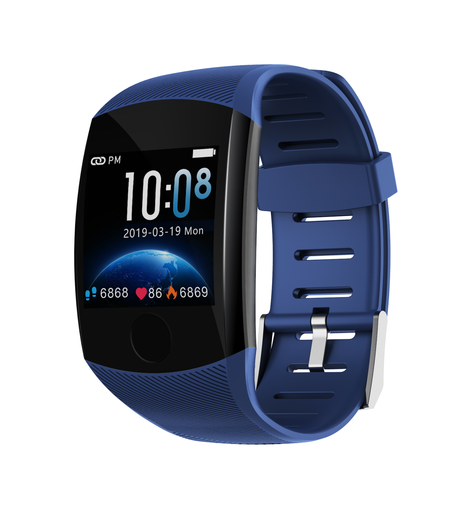 Q11 Smart Watch Ip67 Waterproof Big Touch Screen <font><b>OLED</b></font> Message Heart Rate RateTime Activity Tracker Wristband smartwatch image