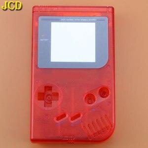 Image 4 - JCD 1 adet 15 renk GameBoy Classic oyun yedek plastik kabuk kapak nintendo GB konsol DIY tam konut GB durumda