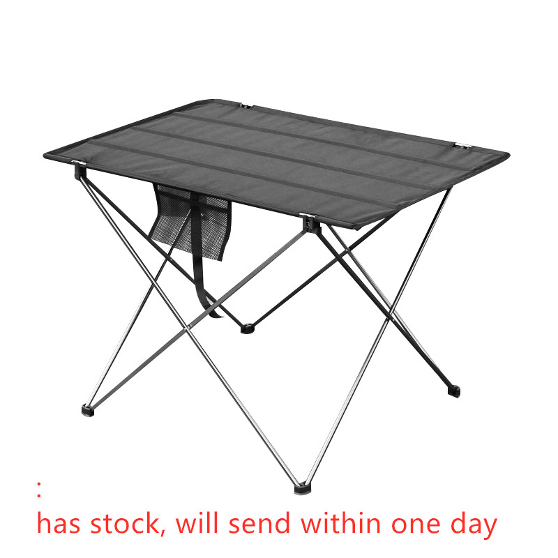 Портативный складной стол для кемпинга, уличная мебель, компьютерные кровати, столы для пикника, алюминиевый сплав, ультра-светильник, Скла...