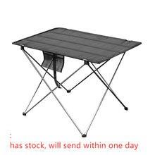 Table pliante Portable, meuble d'extérieur pour Camping, ordinateur, pour pique-nique, meuble de bureau, ultraléger