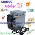 BTC BCH Bitcoin miner BITMAIN AntMiner T17 42T ASIC With PSU Better Than S17 T17e S17e S9K M21 M20S M21S T2T T3 E12 F1 F3 F5M T9