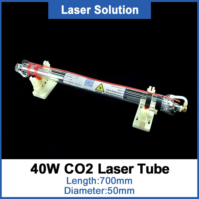 Dragon Diamond Co2 Glass Laser Tube 700MM Dia 50mm 40W Glass Laser Lamp For CO2 Laser Engraving Cutting Machine
