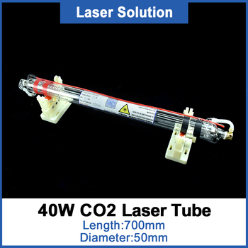 цена на Dragon Diamond Co2 Glass Laser Tube 700MM Dia 50mm 40W Glass Laser Lamp For CO2 Laser Engraving Cutting Machine