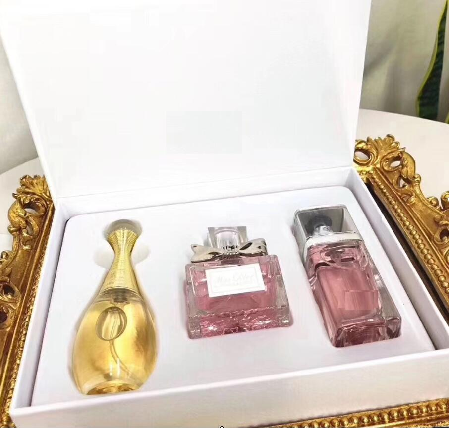 3 In 1 Perfume For Women Original Brand Package Women Perfume Long Lasting Fragrance Lady Antiperspirant 1Set Female Parfum