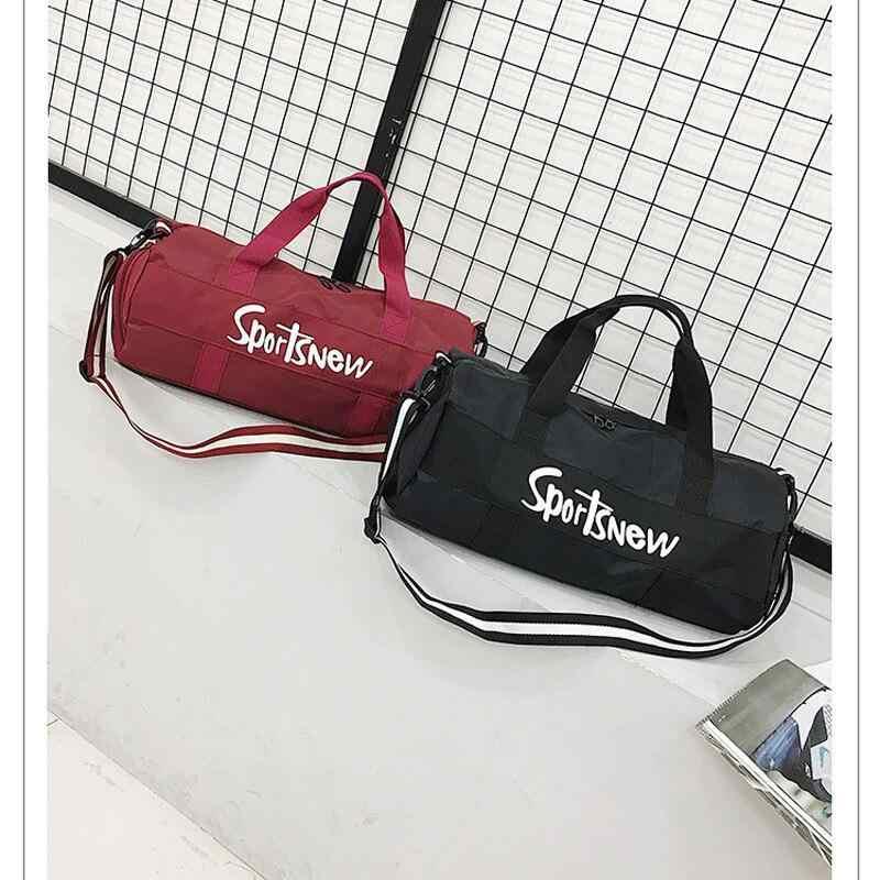 Спортивные сумки унисекс для путешествий тренажерного зала йоги тренировок