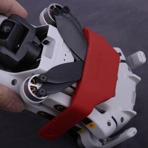 Image 4 - Mini 2/ Mavic Mini/Mini SE ใบพัดผู้ถือ Fixer สำหรับ DJI อุปกรณ์เสริมซิลิโคน Helices Fixture Stabilizers ป้องกัน