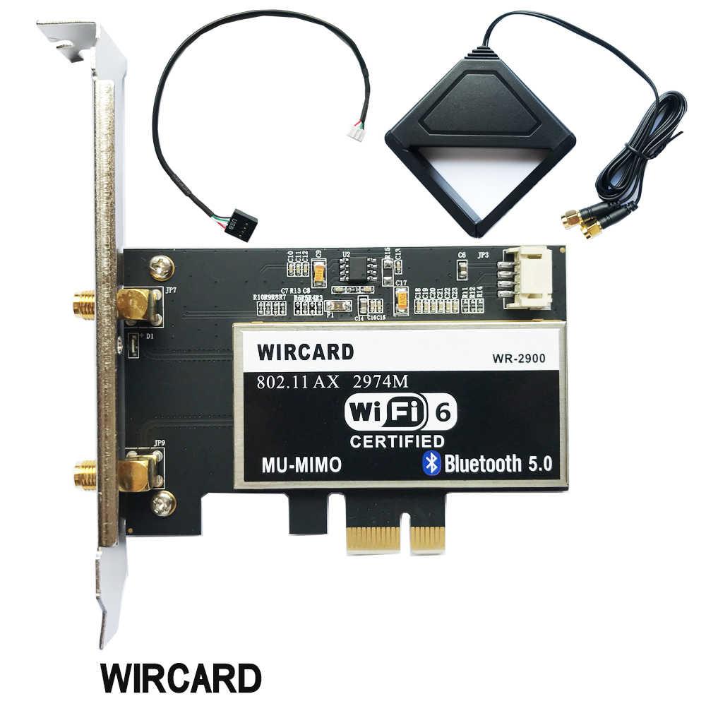 Dwuzakresowy 2400 mb/s bezprzewodowy Wi-Fi karta sieciowa Adapter z bezprzewodowym dostępem do internetu 6 Intel AX200 NGW z 802.11 ac/ax BT 5.0 na pulpicie