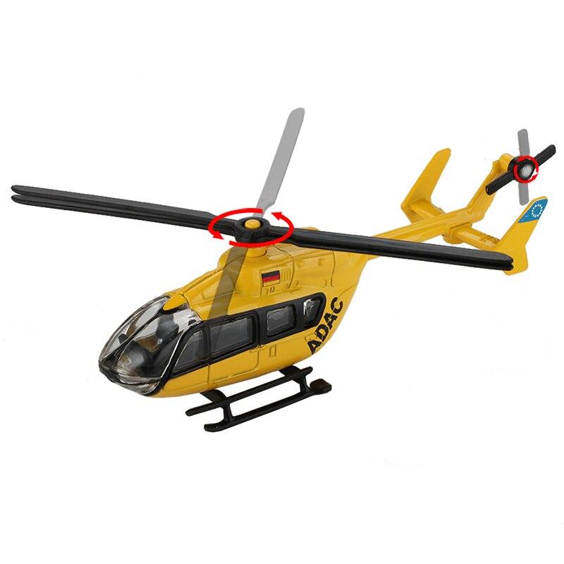 1:64 Corgi Toys Diecast Air Ambulance Helicopter Car Models Alloy Vehicle Toys