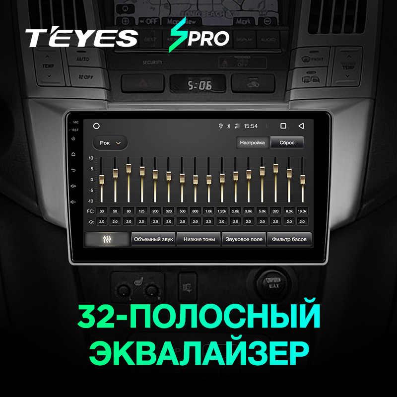 TEYES SPRO para Lexus RX300 RX330 RX350 RX400H Toyota harrier 2003-2009 auto Radio Multimedia reproductor de Video GPS de navegación android 8,1 No 2din 2 din dvd