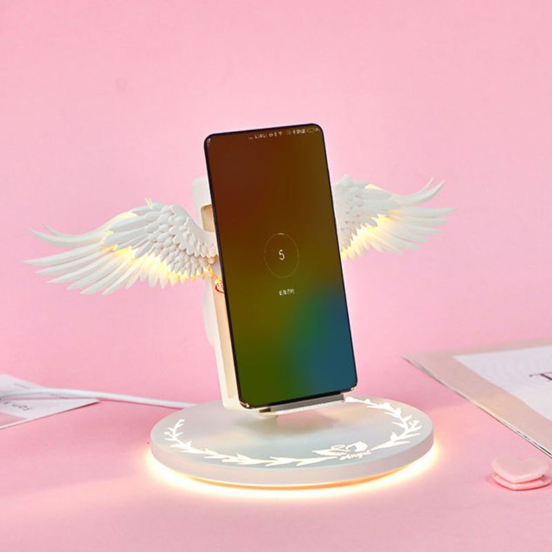 QI vertical wireless charger For Apple Watch 4/3/2 Iphone XR XS Max X 8 plus Samsung Galaxy S9 huawei Mate 20  wireless charging