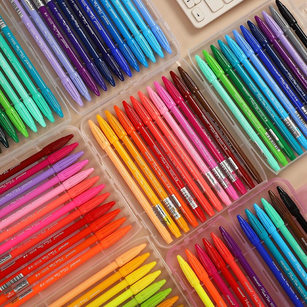 JIANWU Monami 3000 puls 48 farben/Box Aquarell Stift Set Student Farbe Skizze Stift Candy Farben 0,4mm Haken linie Stift Kunst Liefert