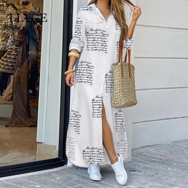 casual long shirtdress,  3