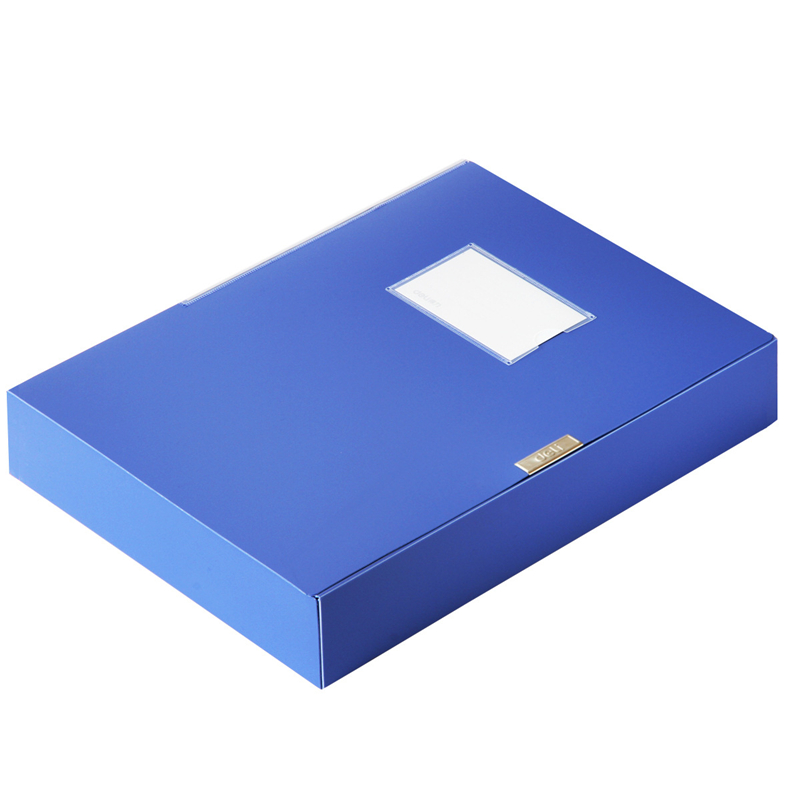 DL Good 5683 Plastic File 3 Inch File Box A4 Data Box Office Stationery 55mm   Student Supplies And Office Supplies