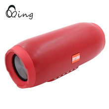 цена на QINGRX Bluetooth Speaker bass Wireless Portable Outdoor Speaker 10W Sound System Stereo Loudspeaker with Mic TF Card for Phone