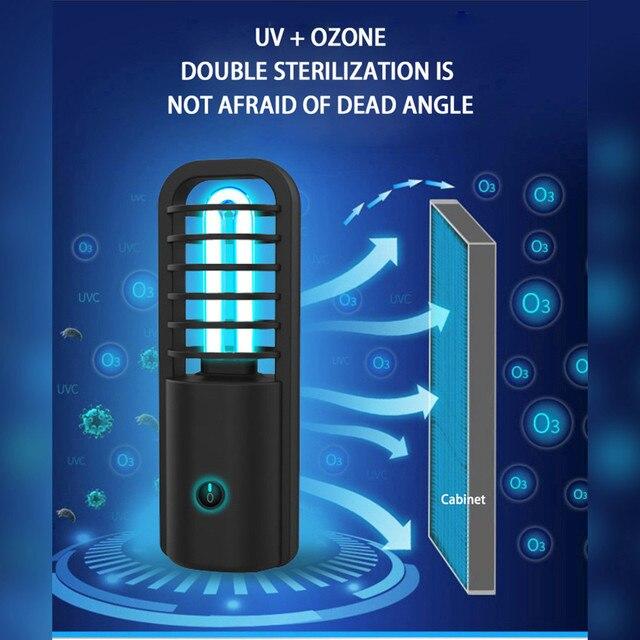 Uv light kill dust sterilizer mite lamp for disinfectant ultraviolet light