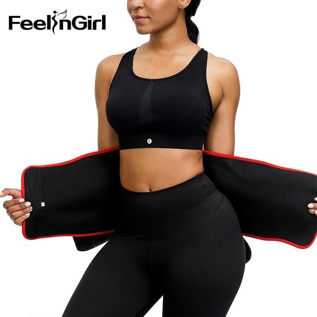 FeelinGirl Women Waist Trainer Hot Neoprene Belt Sauna Sweat Cincher Slimming Strap Body Shaper Tummy Control Lose Weight Fajas 3