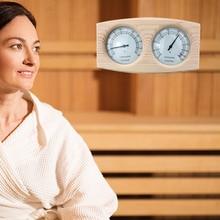 2 в 1 Сауна деревянный термометр гигрометр парная комната термометрический инструмент влажность