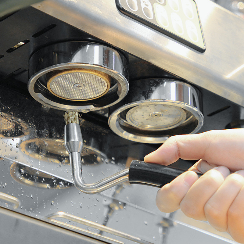 Semi-automatic Coffee Machine Clean Brush High Pressure Steam Brushes Professional And Perfect Coffee Machine Cleaning Accessori