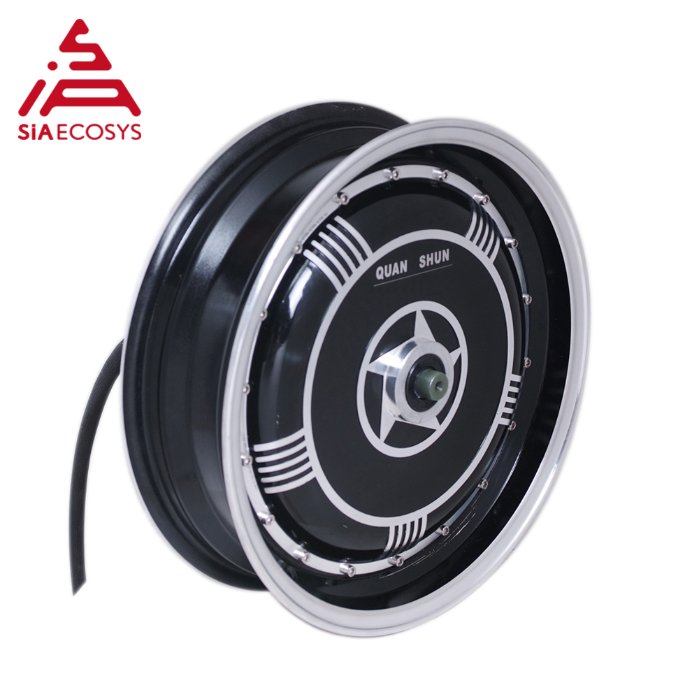 <font><b>QS</b></font> <font><b>Motor</b></font> 13x3,5inch 8000W <font><b>273</b></font> V3 high effctive single shaft in wheel hub <font><b>motor</b></font> for electric scooter motorcycle image