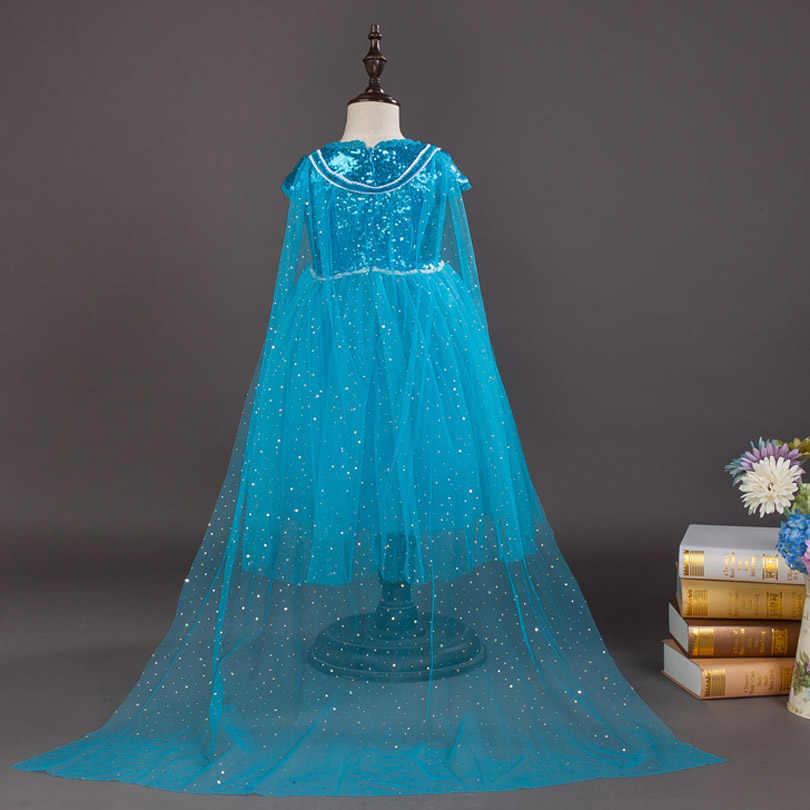 Thời Trang mới Gái Đầm Váy Công Chúa Trẻ Em Quần Áo Anna Elsa Trang Phục Hóa Trang Đầm Dự Tiệc Cho Bé Gái Quần Áo Cổ Tích