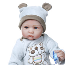 Npk 40cm bebê reborn premie boneca realista, menino, bebê, no cobertor, mão raízes, cabelo de alta qualidade, boneca cobertor