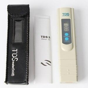 Nuovi Tds Meter Ce Temperatura Del Tester Della Penna 3 In1 Funzione di Strumento di Misurazione Della Qualità Delle Acque di Conducibilità Tds & Ec Tester 0-9990ppm