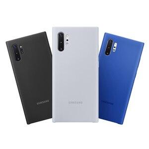 Image 2 - Официальный оригинальный силиконовый защитный чехол для Samsung Galaxy Note 10 Note10 NoteX Note 10 Plus мобильный телефон