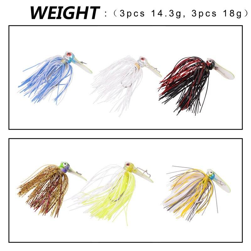 Купить 6 шт 12 рыболовные крючки из тпу 143 18 г