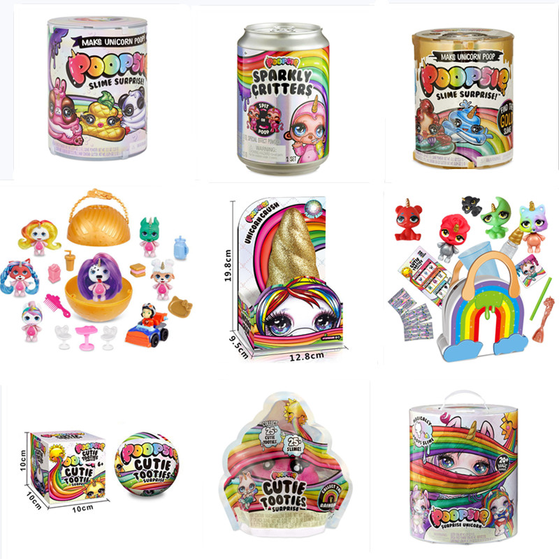 Poopsie Slime Unicorn Ball lols Dolls Poop Girls Toys Sparkly Critters Rainbow Bright Star or Oopsie Starlight(China)