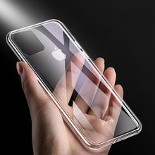 Felkin Silicone Soft TPU Phone Case for iPhone 11 Pro Max XR X XS 6 7 8 Plus 5 Transparent