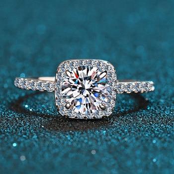 Princess Square Ring Jewelry Diamond Jewelry