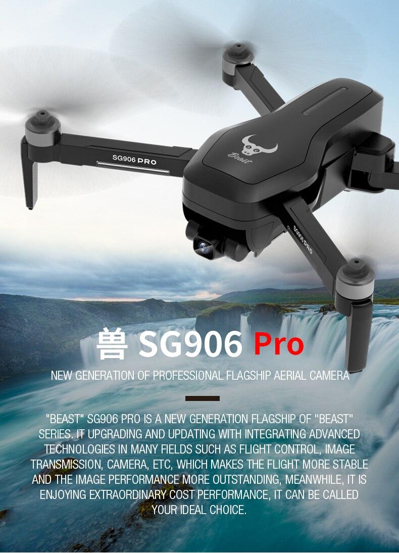 Nouveau SG906 drone drone avec caméra drone gps rc hélicoptère 4K jouets quadrirotor professionnel drohne quadrocopter hélicoptère selfie