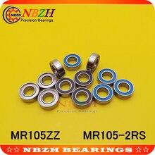 MR105ZZ MR105-2RS SMR105ZZ SNR105-2RS 5X10X4 мм Глубокие шаровые подшипники MR105/L-1050 ZZ MR105 RS MR105-2RS