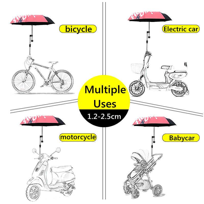soporte ajustable para paraguas al aire libre Soporte de paraguas de acero inoxidable para silla de ruedas de bicicleta Zeen