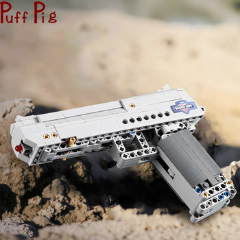 307pcs The Click Gun Model Building Blocks Assembled Toys Simulation CS Adventure Game Gifts for Boys Wholesale