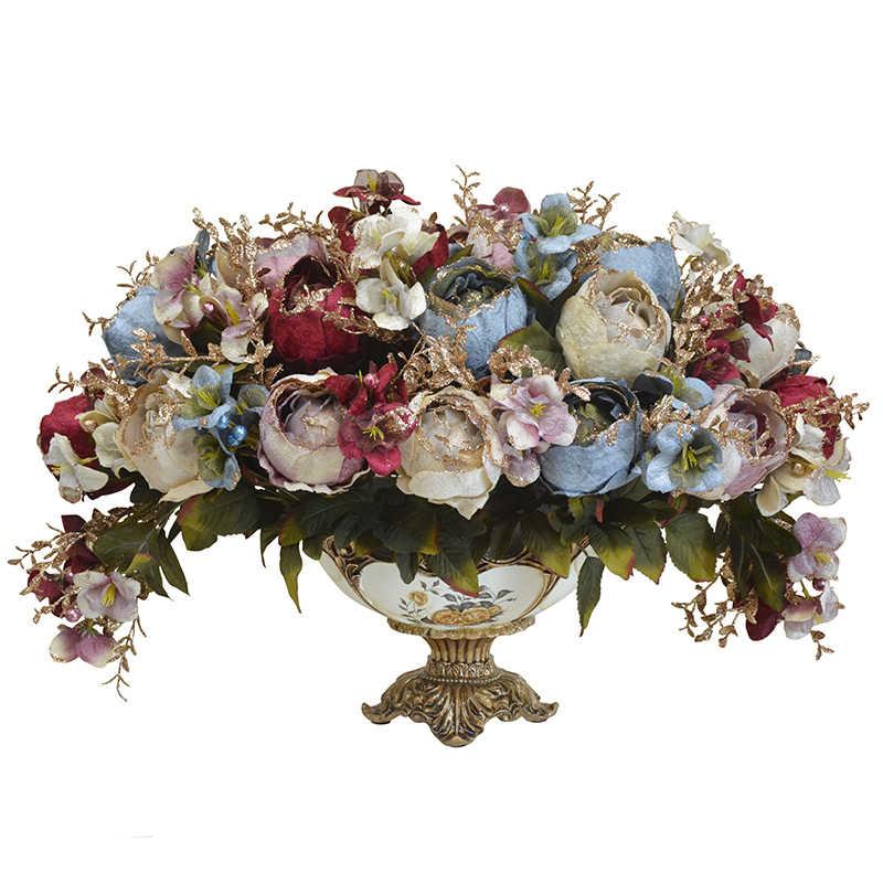 Para Jarron Vazo jardín Teraryum accesorios De decoración del hogar modernos Jarrones Decorativos Moderno Vaso De Flor