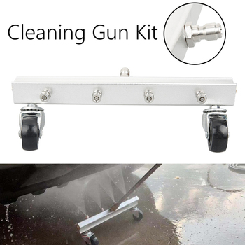 1 Set Car Washing Tool Kit new design 4 nozzle cleaning car chassis Water Spray Ground Washing Brush High Quality Car Clean Tool national academy press ground water quality protect state