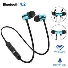 Magnetic Wireless Bluetooth 4.2 Earphone Stereo Sports Waterproof Earbuds Wireless in-ear H