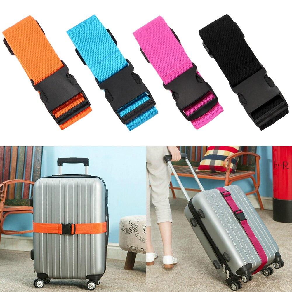 Ceintures de valise pour sac de voyage, 5x180cm, sangles de bagages réglables, 4 couleurs, ceinture demballage